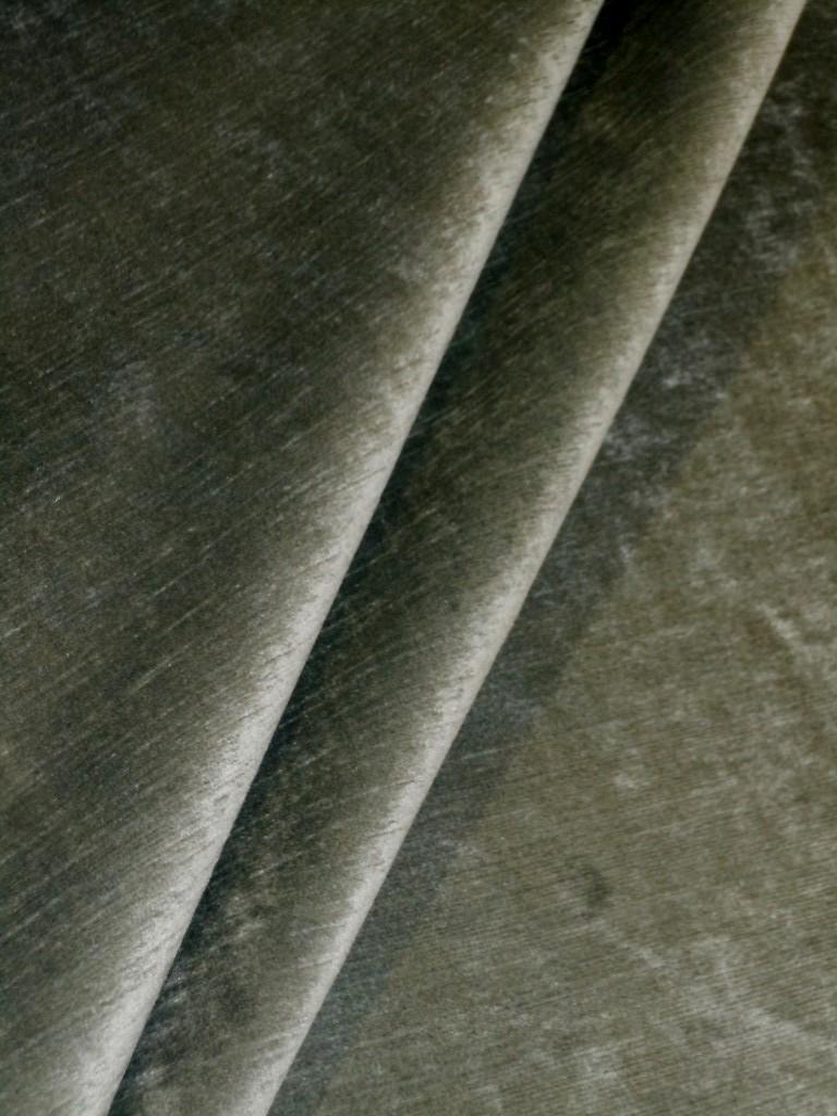 Color Eucalyptus Upholstery Velvet Fabric By The Yard