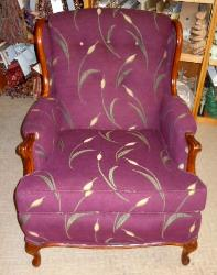 Reupholsterd Wing chair
