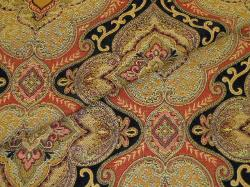 Closeup folded image of High Design Tapestry look, heavy duty rayon poly, for upholstery and interior decorating
